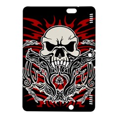 Skull Tribal Kindle Fire Hdx 8 9  Hardshell Case by Valentinaart