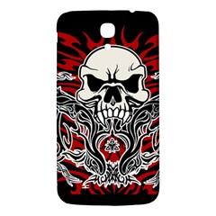 Skull Tribal Samsung Galaxy Mega I9200 Hardshell Back Case by Valentinaart