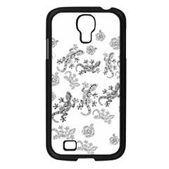 Ornate Lizards Samsung Galaxy S4 I9500/ I9505 Case (black) by Valentinaart