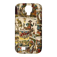 Tarot Cards Pattern Samsung Galaxy S4 Classic Hardshell Case (pc+silicone) by Valentinaart