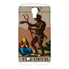 The Devil   Tarot Samsung Galaxy S4 I9500/i9505 Hardshell Case by Valentinaart