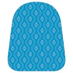 Blue Ornamental Pattern School Bags (small)  by TastefulDesigns