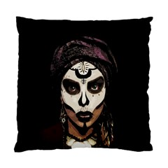 Voodoo  Witch  Standard Cushion Case (two Sides) by Valentinaart