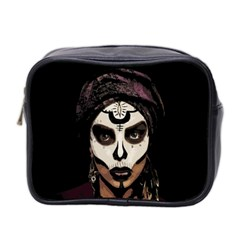 Voodoo  Witch  Mini Toiletries Bag 2 Side by Valentinaart