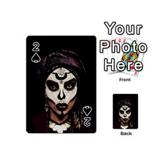 Voodoo  Witch  Playing Cards 54 (mini)  by Valentinaart