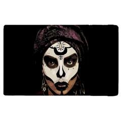 Voodoo  Witch  Apple Ipad 2 Flip Case by Valentinaart