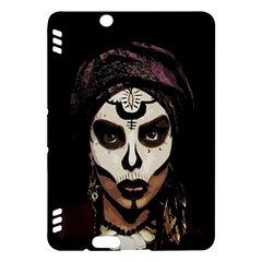 Voodoo  Witch  Kindle Fire Hdx Hardshell Case by Valentinaart