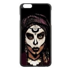 Voodoo  Witch  Apple Iphone 6 Plus/6s Plus Black Enamel Case by Valentinaart