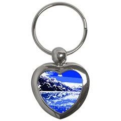 Landscape Key Chains (heart)  by Valentinaart