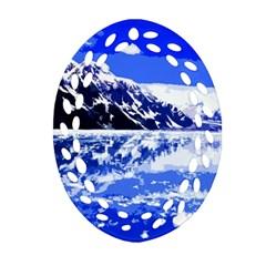 Landscape Ornament (oval Filigree) by Valentinaart