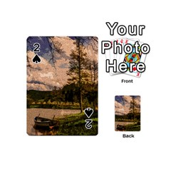 Landscape Playing Cards 54 (mini)  by Valentinaart