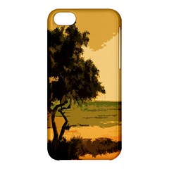 Landscape Apple Iphone 5c Hardshell Case by Valentinaart