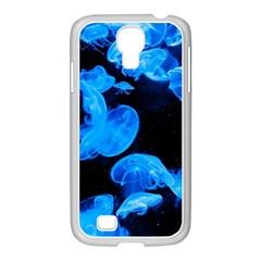 Jellyfish  Samsung Galaxy S4 I9500/ I9505 Case (white) by Valentinaart