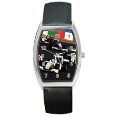 Formula 1 Barrel Style Metal Watch by Valentinaart