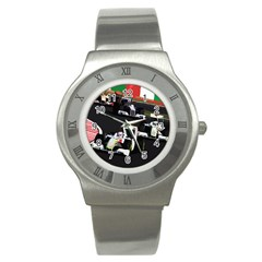 Formula 1 Stainless Steel Watch by Valentinaart