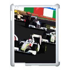 Formula 1 Apple Ipad 3/4 Case (white) by Valentinaart