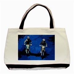Motorsport  Basic Tote Bag by Valentinaart