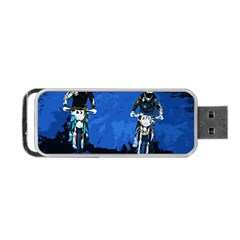 Motorsport  Portable Usb Flash (two Sides) by Valentinaart