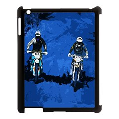 Motorsport  Apple Ipad 3/4 Case (black) by Valentinaart