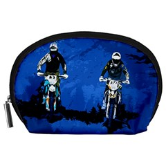 Motorsport  Accessory Pouches (large)  by Valentinaart