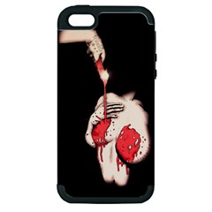 Wax Love Apple Iphone 5 Hardshell Case (pc+silicone) by lvbart