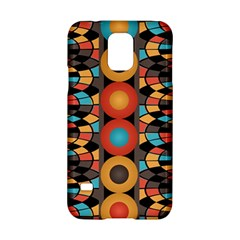 Colorful Geometric Composition Samsung Galaxy S5 Hardshell Case  by linceazul
