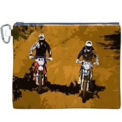 Motorsport  Canvas Cosmetic Bag (xxxl) by Valentinaart