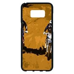 Motorsport  Samsung Galaxy S8 Plus Black Seamless Case by Valentinaart