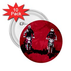 Motorsport  2 25  Buttons (10 Pack)  by Valentinaart