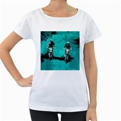 Motorsport  Women s Loose Fit T Shirt (white) by Valentinaart
