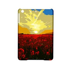 Poppy Field Ipad Mini 2 Hardshell Cases by Valentinaart