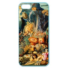 Underwater Apple Seamless Iphone 5 Case (color) by Valentinaart