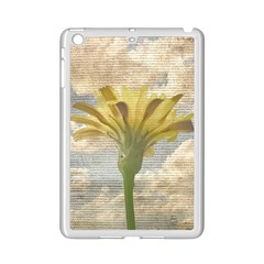 Shabby Chic Style Flower Over Blue Sky Photo  Ipad Mini 2 Enamel Coated Cases by dflcprints