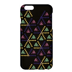Triangle Shapes                        Apple Iphone 6 Plus/6s Plus Enamel White Case by LalyLauraFLM
