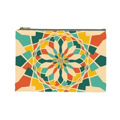 Summer Festival Cosmetic Bag (large)  by linceazul