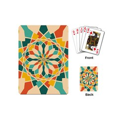 Summer Festival Playing Cards (mini)  by linceazul