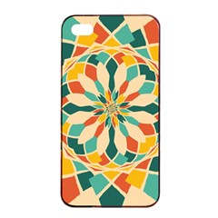 Summer Festival Apple Iphone 4/4s Seamless Case (black) by linceazul