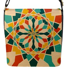 Summer Festival Flap Messenger Bag (s) by linceazul