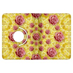 Roses And Fantasy Roses Kindle Fire Hdx Flip 360 Case by pepitasart