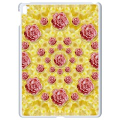 Roses And Fantasy Roses Apple Ipad Pro 9 7   White Seamless Case by pepitasart