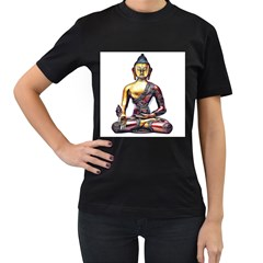 Buddha Women s T Shirt (black) by taoteching