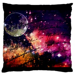 Letter From Outer Space Standard Flano Cushion Case (one Side) by augustinet