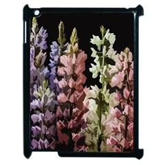 Flowers Apple Ipad 2 Case (black) by Valentinaart