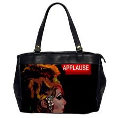 Transvestite Office Handbags by Valentinaart