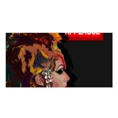 Transvestite Satin Shawl by Valentinaart