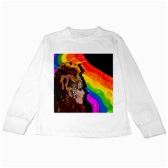 Transvestite Kids Long Sleeve T Shirts by Valentinaart