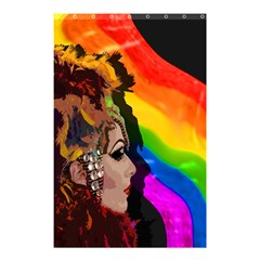 Transvestite Shower Curtain 48  X 72  (small)  by Valentinaart