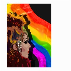 Transvestite Small Garden Flag (two Sides) by Valentinaart