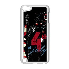 4th Of July Independence Day Apple Ipod Touch 5 Case (white) by Valentinaart