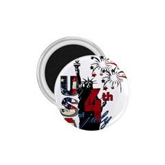 4th Of July Independence Day 1 75  Magnets by Valentinaart